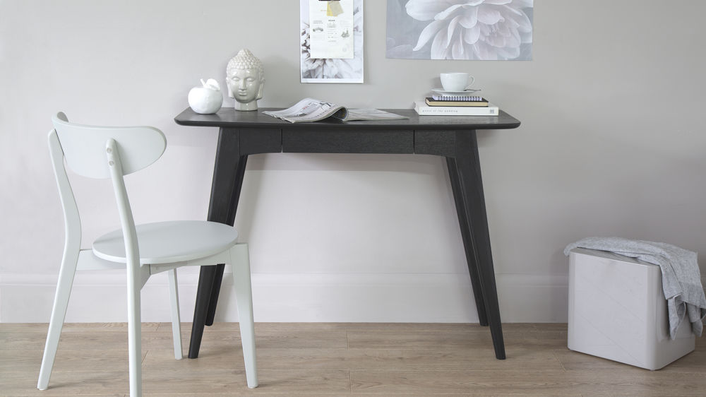 Contemporary Black Office Desk