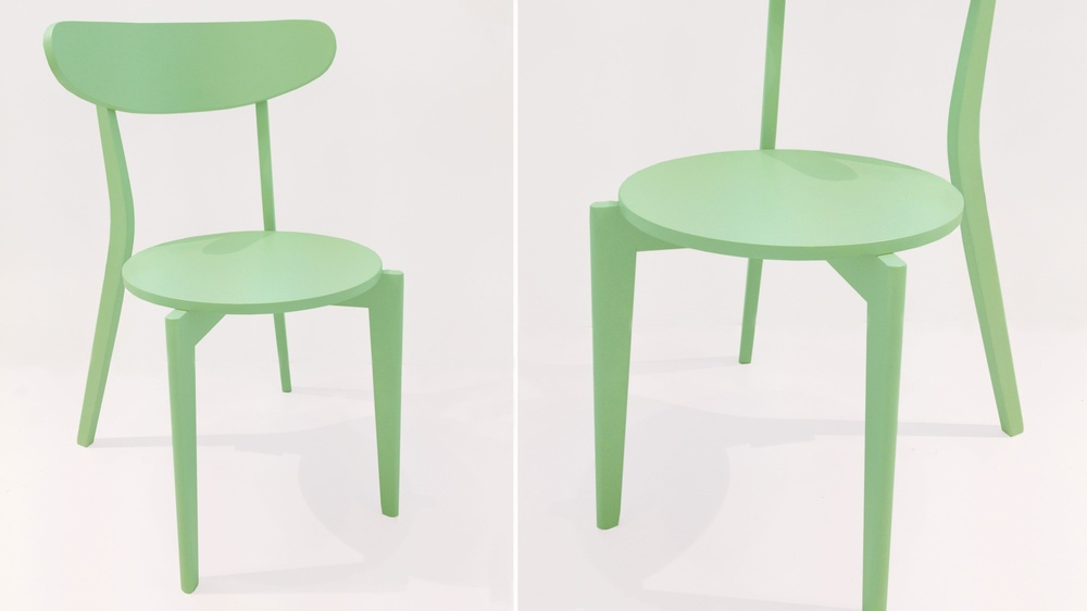 Green Kitchen Chair