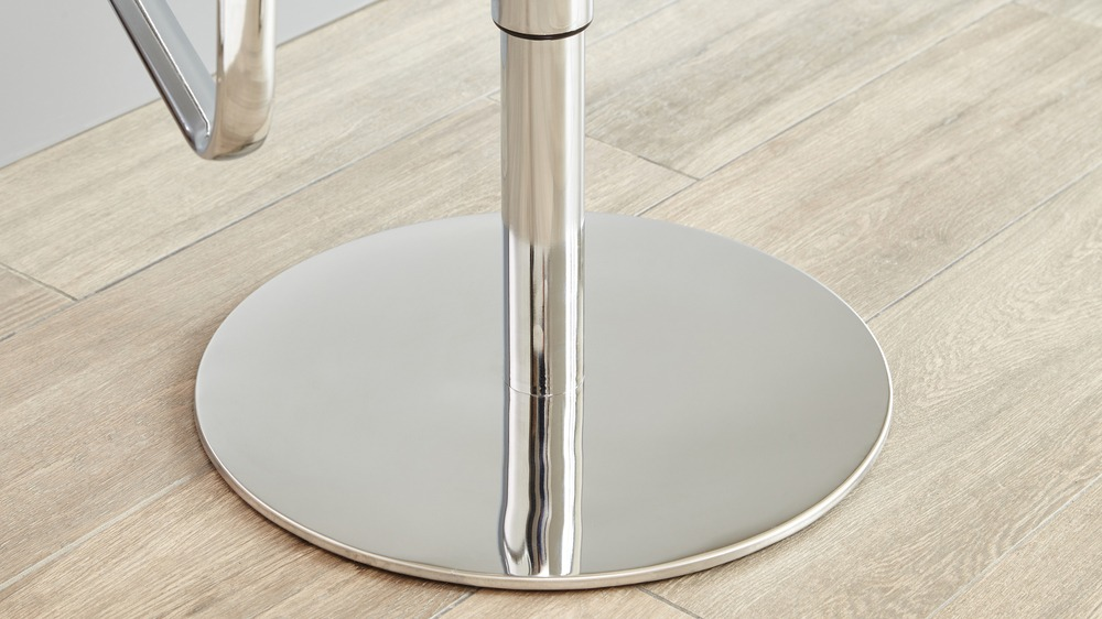 Modern Chrome Gas Lift Bar Stools