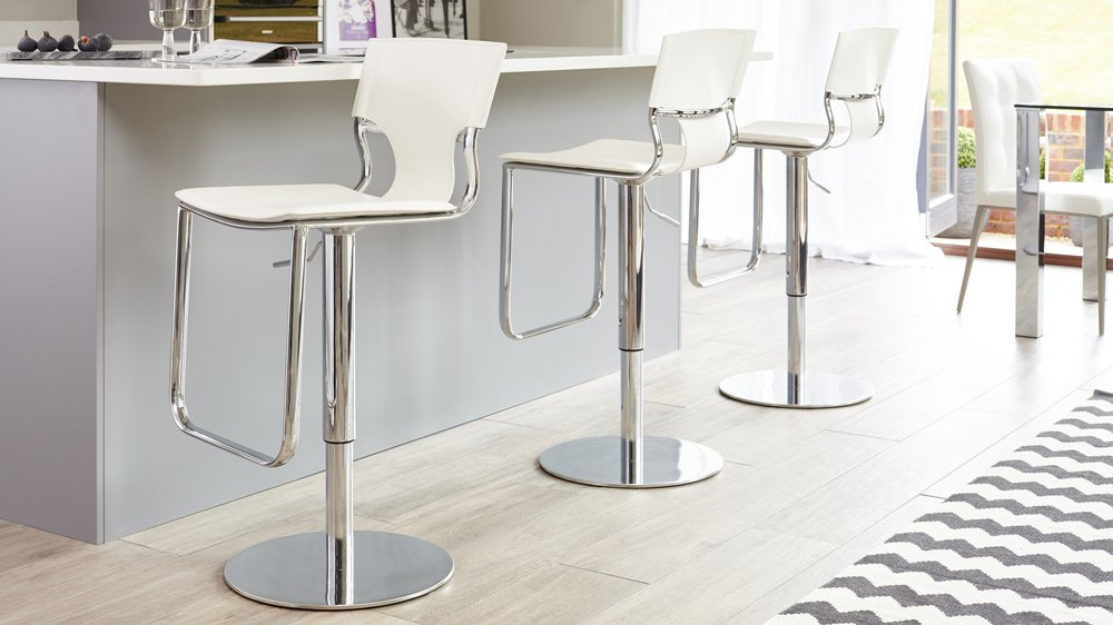 Adjustable Height Bar Stool UK