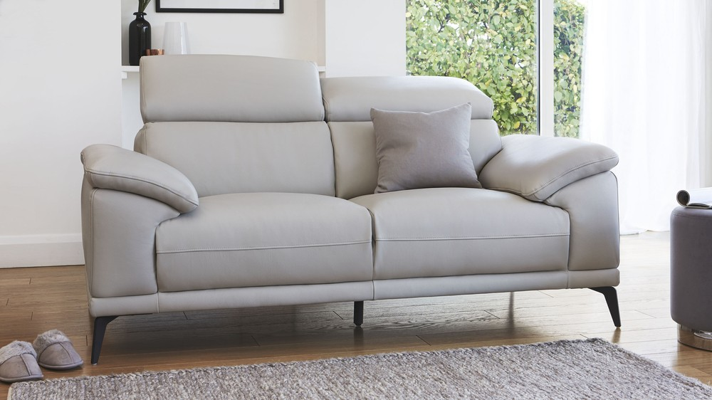 2 seater quality leather sofa