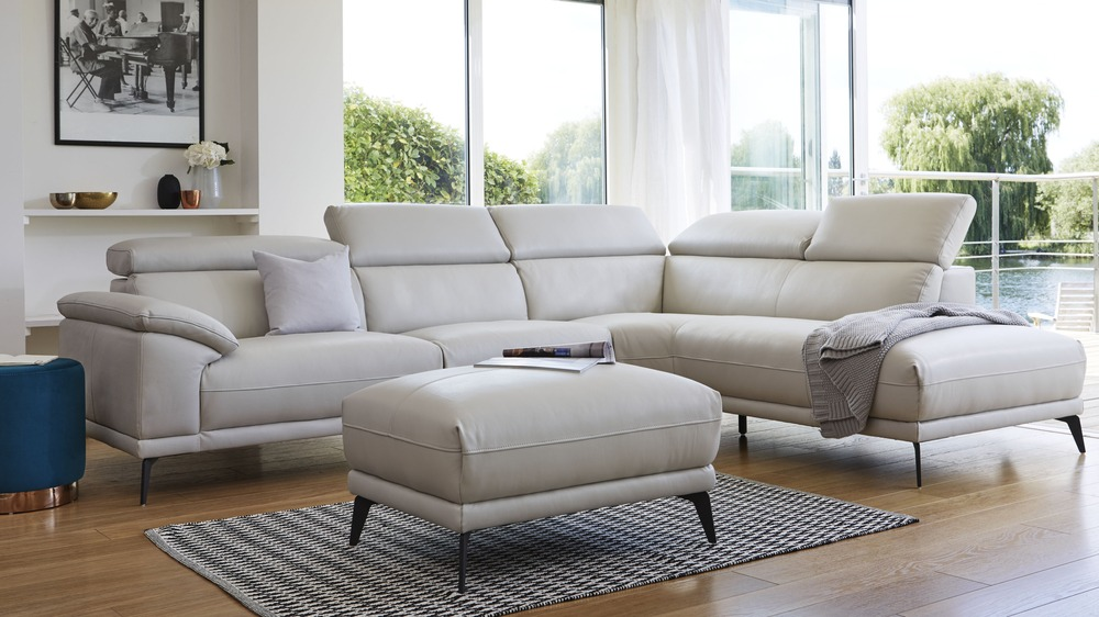 Siena leather sofa range