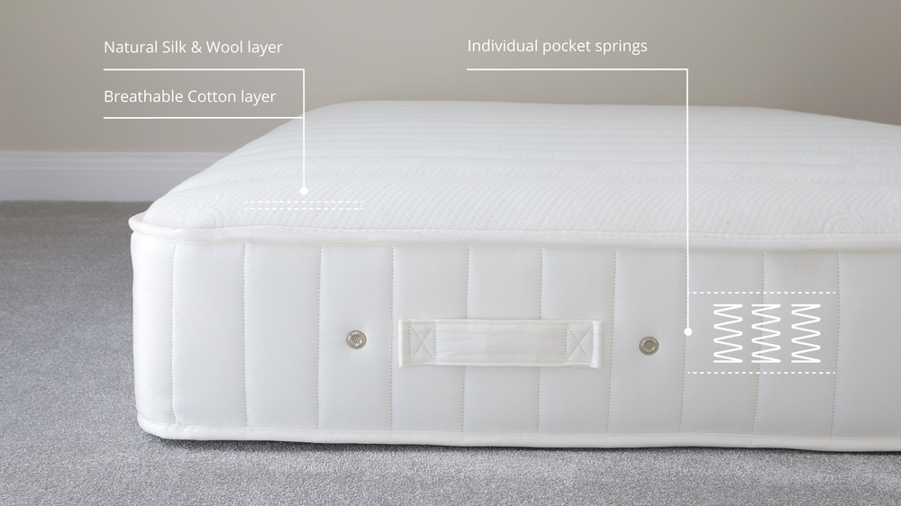 luxury quilted mattress