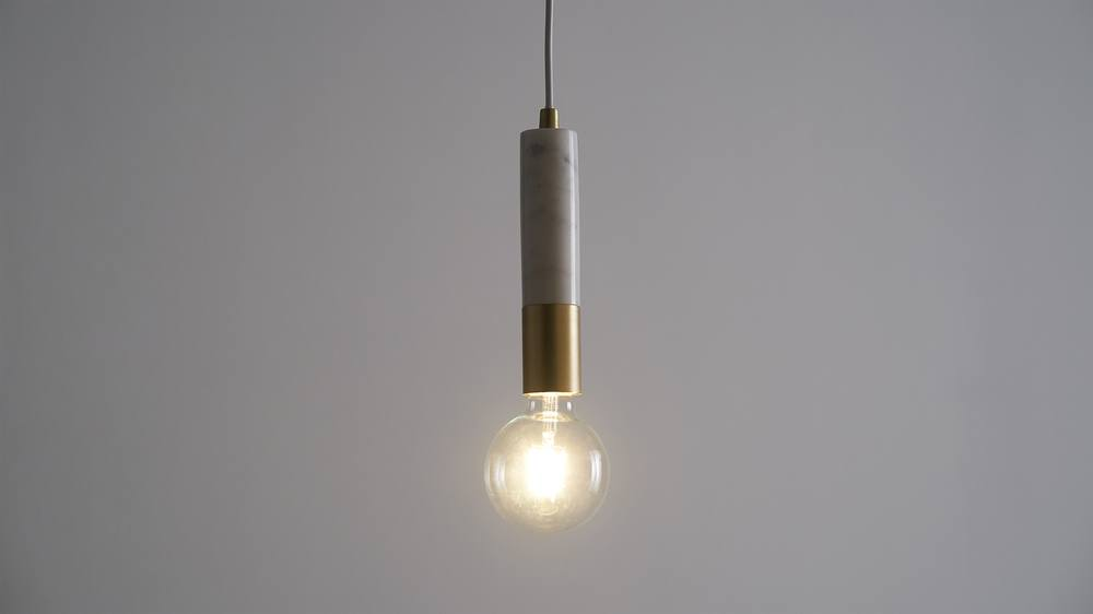 Small modern marble pendant lights