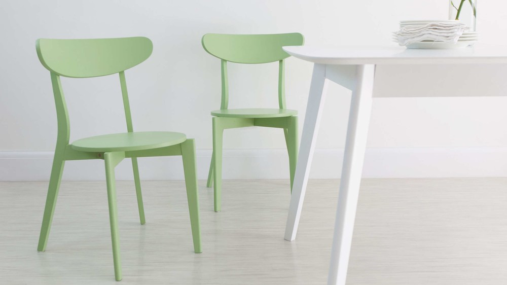 Green Colourful Kitchen Dining Chair