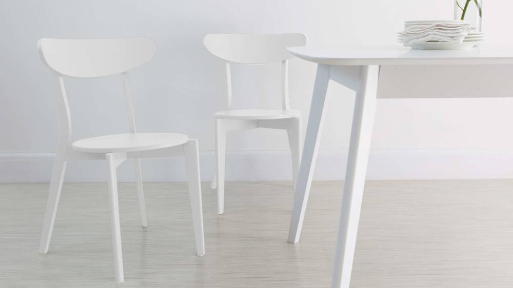 Cool White Kitchen Chair