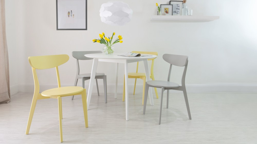 Round White 4 Seater Dining Table Matt Finish UK : terni white round dining table 2 from www.danetti.com size 1000 x 562 jpeg 42kB