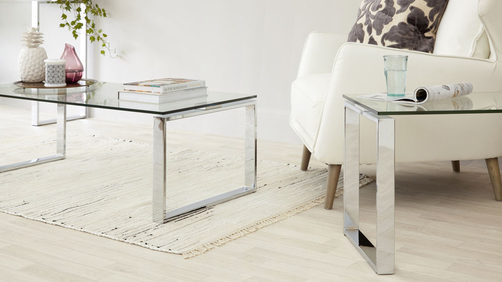 Modern Gl Coffee Table Set