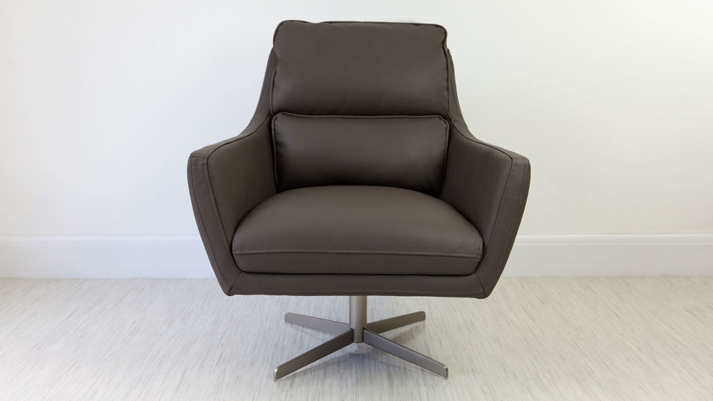 Wide Cushioned Arm Chair