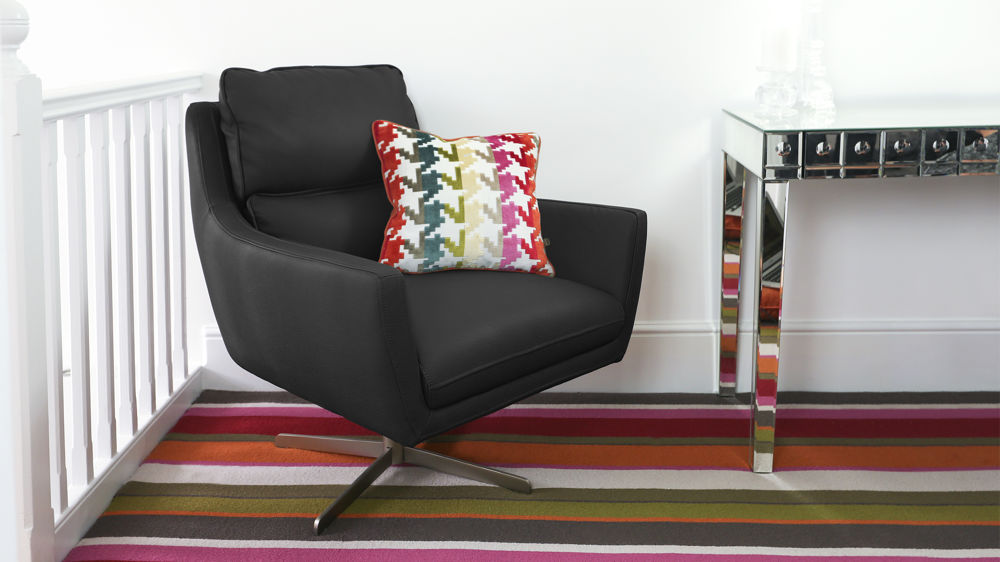 Black Arm Chair UK Delivery