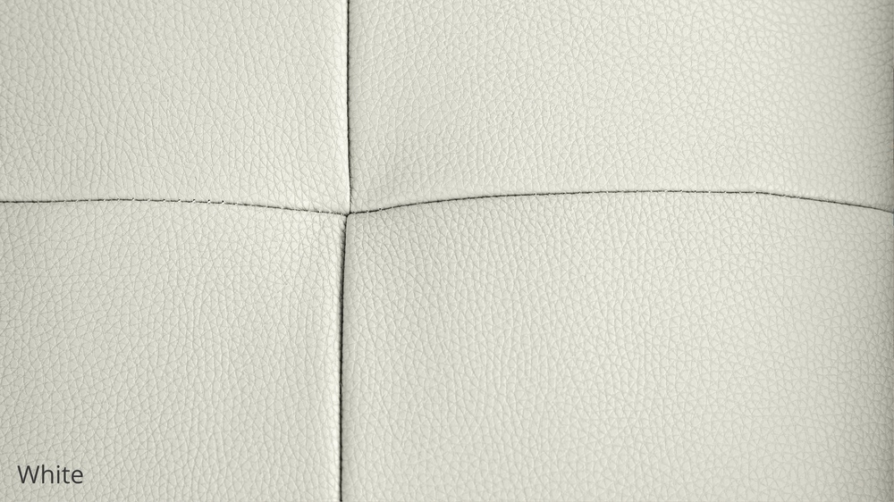 White Modern Leather