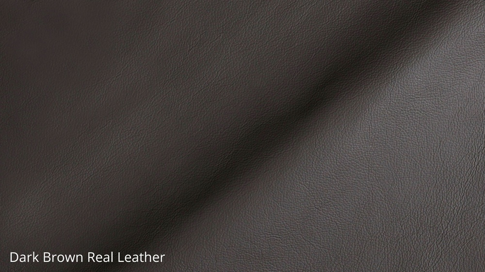 Dark Brown Real Leather