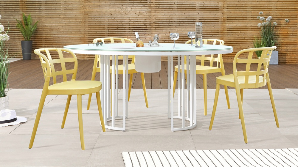 Totem outdoor table