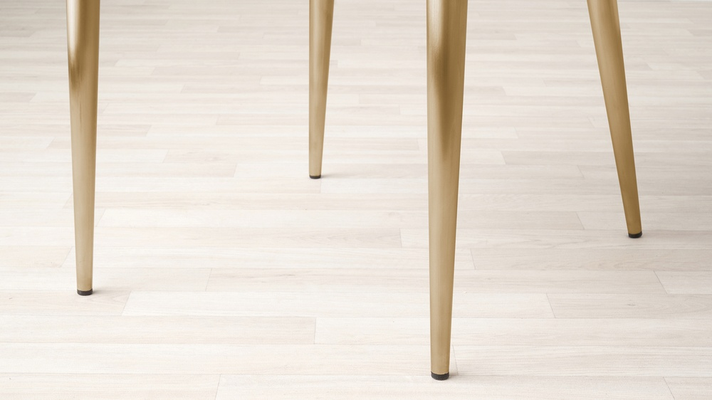 brass legged chairs