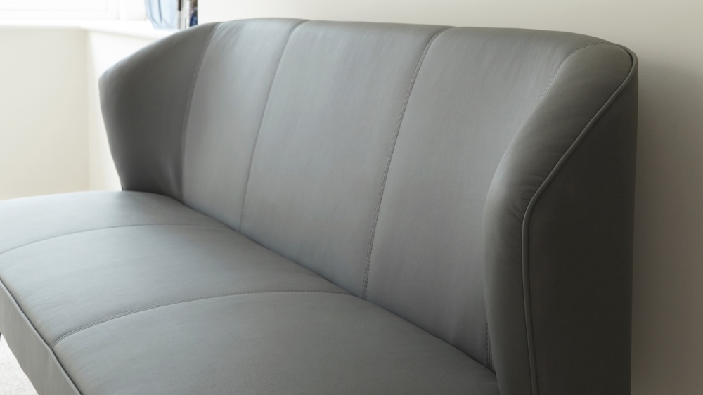 Comfortable Leather Bench
