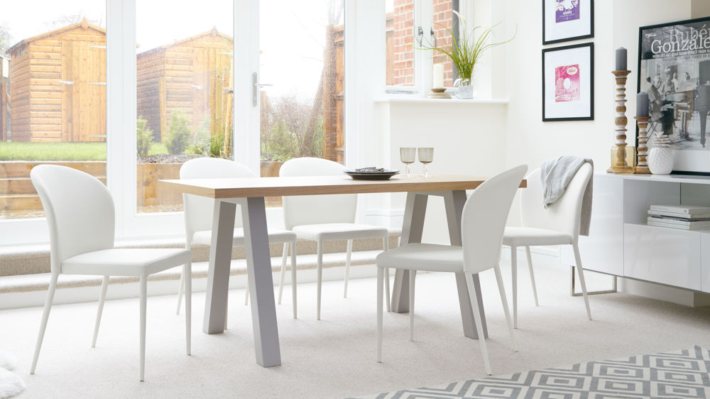 Family Modern 6 Seater Dining Set