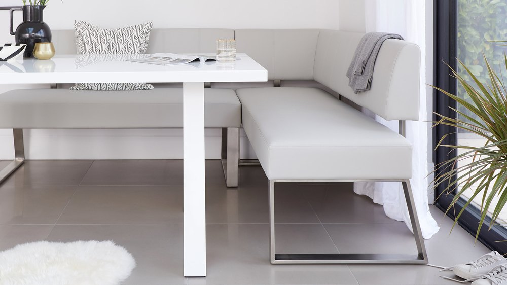 white gloss dining table sets