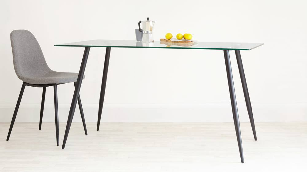 Zilo Glass DIning Table