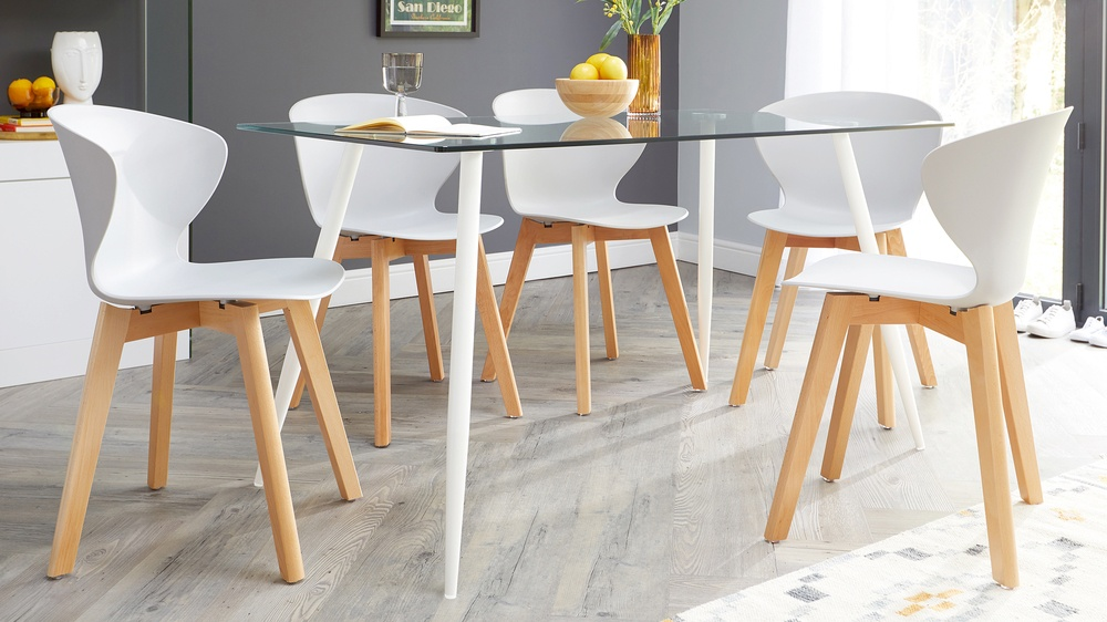 Wooden dining chair sets