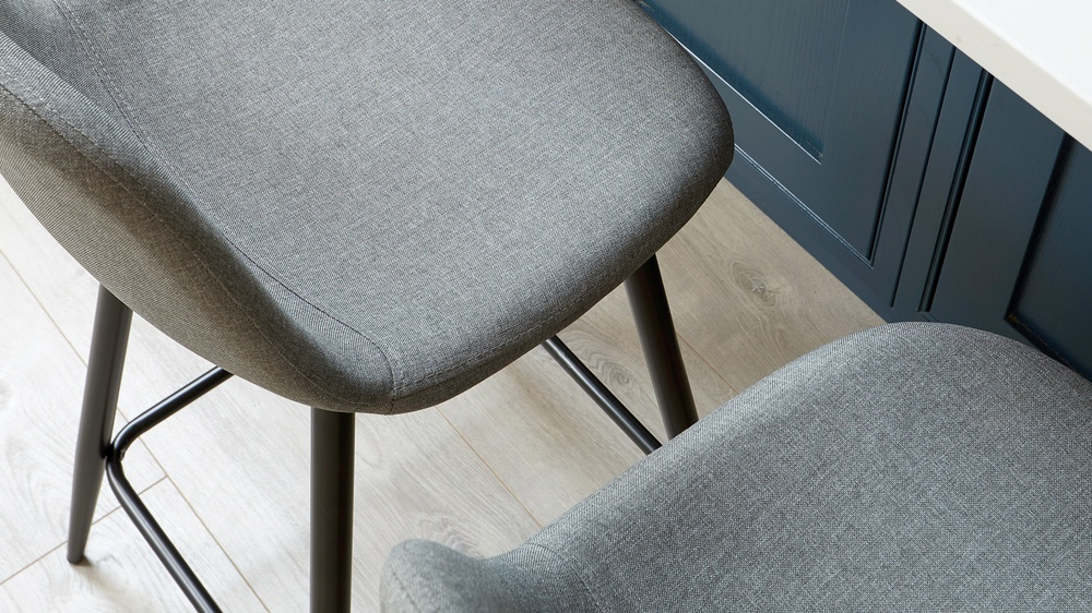 Grey Counter Stool