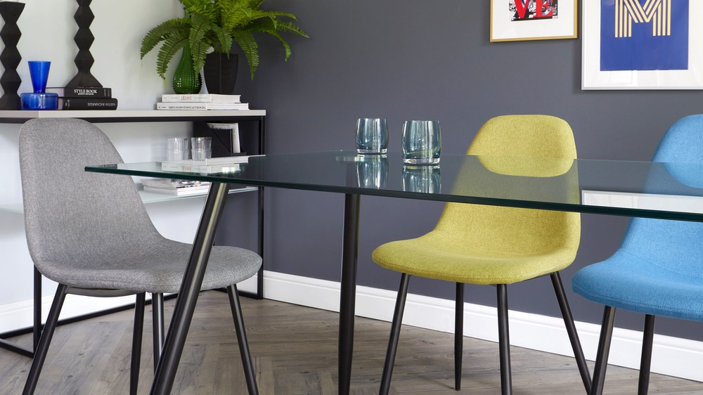 modern colourful dining sets