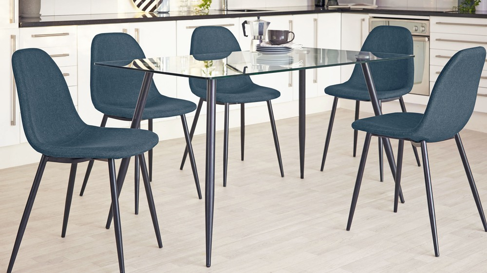 Zilo Teal Dining Chair