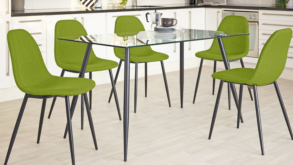 Zilo modern colour dining chair