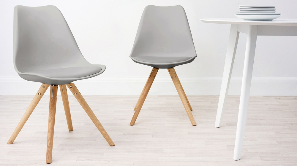 modern plastic dining chairs