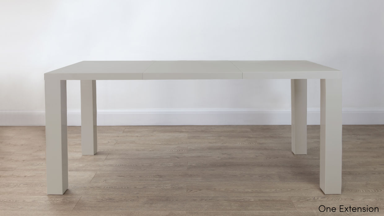 High gloss extending dining table images - High gloss extending dining table ...