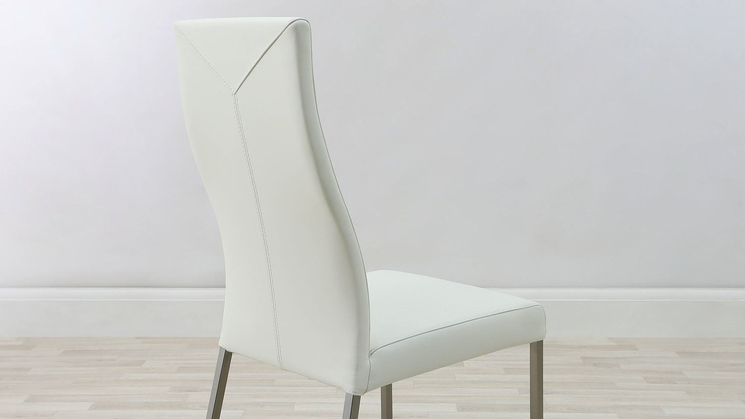 Genuine Leather Dining Room Chairs Grey Cantilever Dining Chairs And White Gloss Dining Table Kitchen