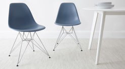 Eames Moulded Wire Frame Dining Chair
