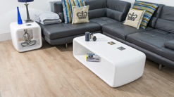 Flicker Coffee Table White