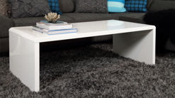 Luca White Gloss Coffee Table