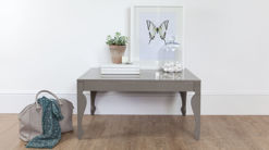 Muse Taupe Grey Gloss Coffee Table