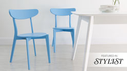 Senn Colourful Kitchen Chair