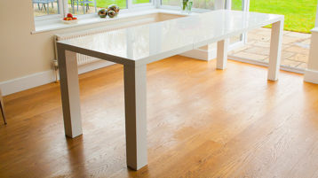White Gloss Dining Tables