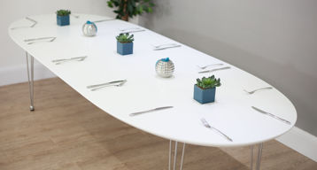 White Round Dining Tables