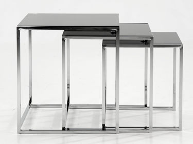 Sleek Set of Nesting Tables.