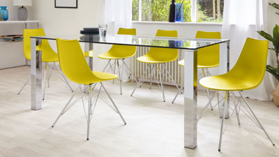 Contemporary Furniture Modern Dining Table and Chair Sets Danetti