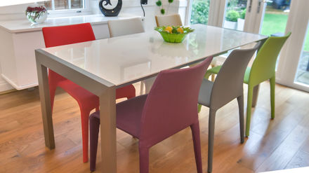 Colorful Dining Chair Seats