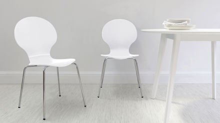 White Dining Chairs