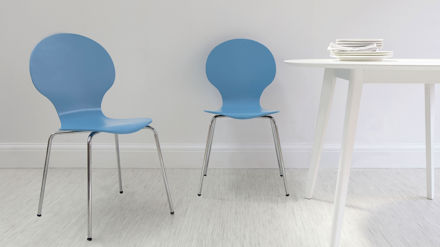 Blue Dining Chairs