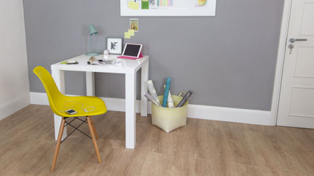 Square White Gloss Dining Table