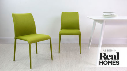 Fully upholstered fabric stackable chairs under 100 for Funky fabric dining chairs