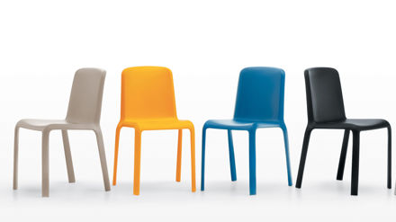 Stylish Plastic Dining Chairs