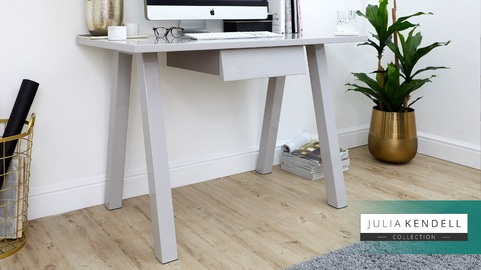 Zen Grey Gloss Desk